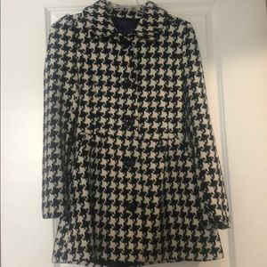 Jackets & Blazers - Houndstooth peacock size small